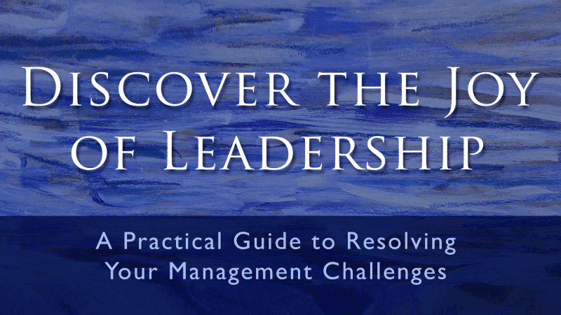 Featured on Friday: Discover the Joy of Leadership by Willy Steiner