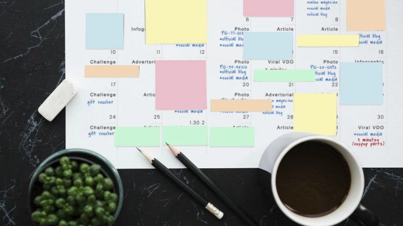 4 Benefits of Using an Editorial Calendar in Social Media