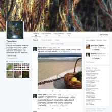 Promoting my work through Twitter