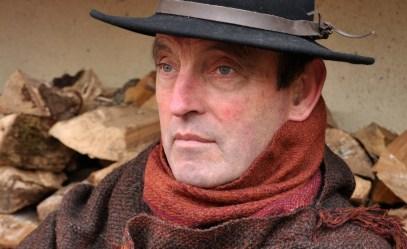 Harris tweed yarn and Alpaca snug
