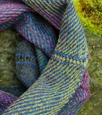 Bluebell cowl detail