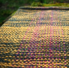 Gorse and heather cowl detail