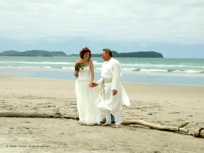 Marriage on the Beach at Prana