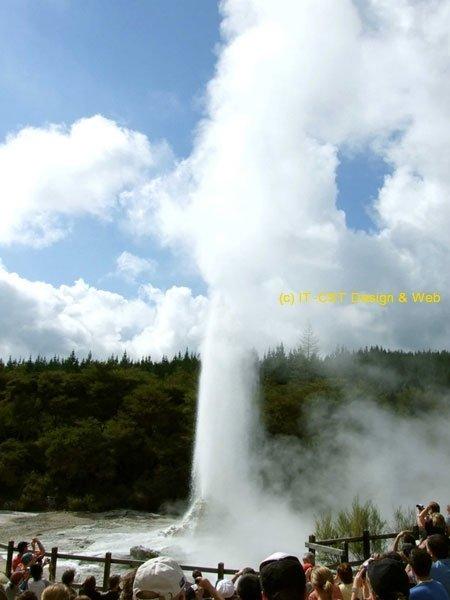 Waiotapu thermal wonderland, New Zealand;