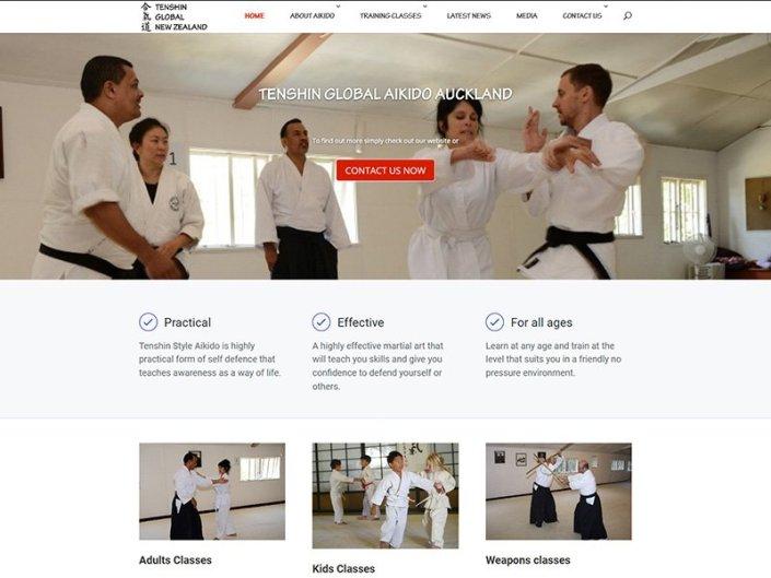 Tenshin Aikido Homepage
