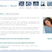 Wellness Kraft About page;