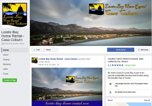 Loreto Bay Home Rental Facebook Page