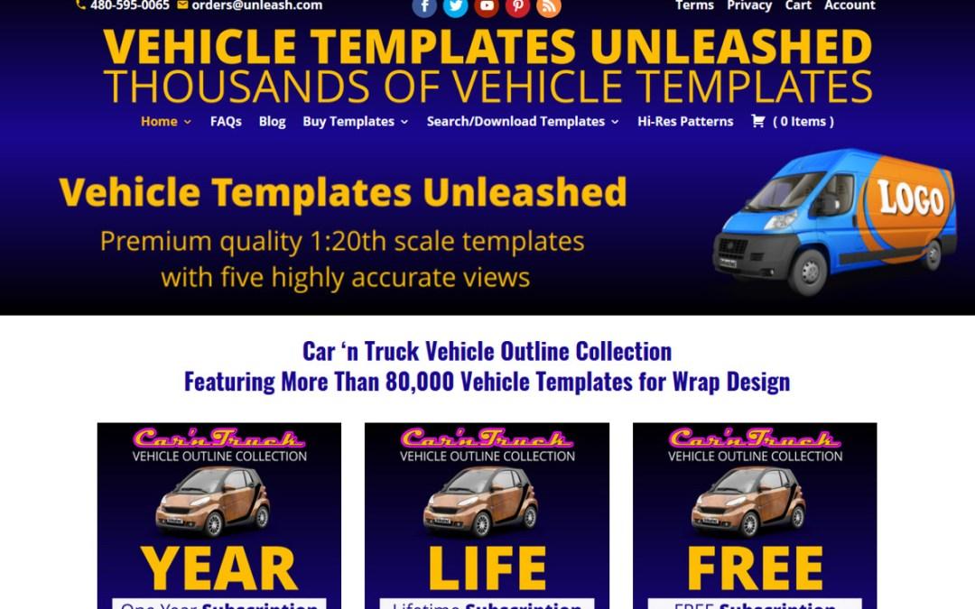 Vehicle Templates Unleashed Web Site