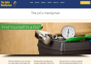 The JoCo Handyman Web Site