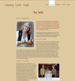 Soaring Spirit Studios Artist Page After