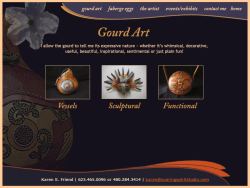 Soaring Spirit Studios Gourds Page Before