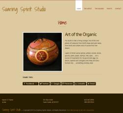 Soaring Spirit Studios Home Page After