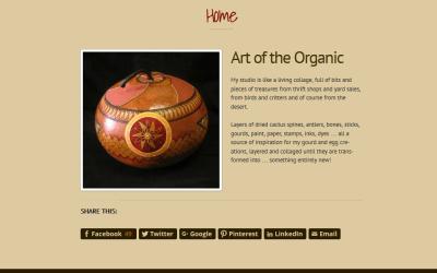 Soaring Spirit Studio Web Site Makeover