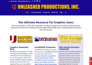 Unleashed Productions Inc. Web Site