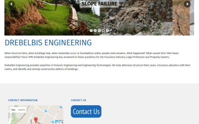 Drebelbis Engineering Web Site Makeover