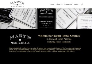 Mary's Medicinals / Yavapai Herbal Services Web Site