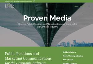 Proven Media Services Web Site