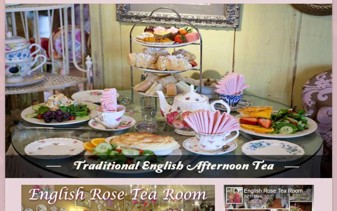 Tea Site Makeover Fit for the Queen
