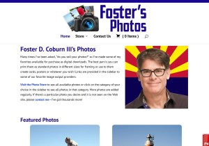 Foster's Photos Web Site