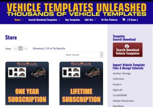 Vehicle Templates Unleashed E-Commerce Store
