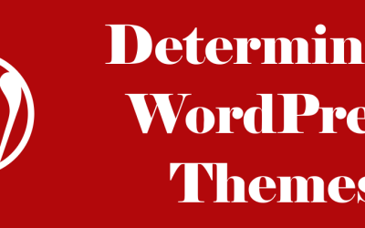 Determining WordPress Theme Used on Sites