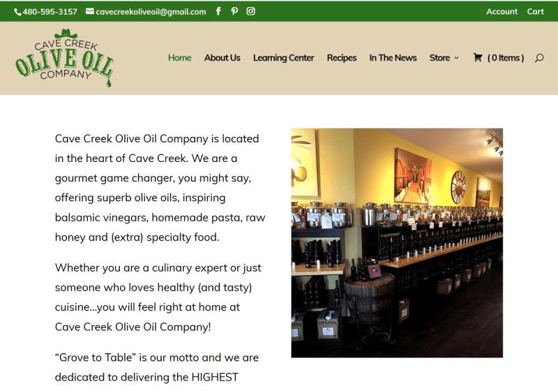 Cave Creek Olive Oil Company