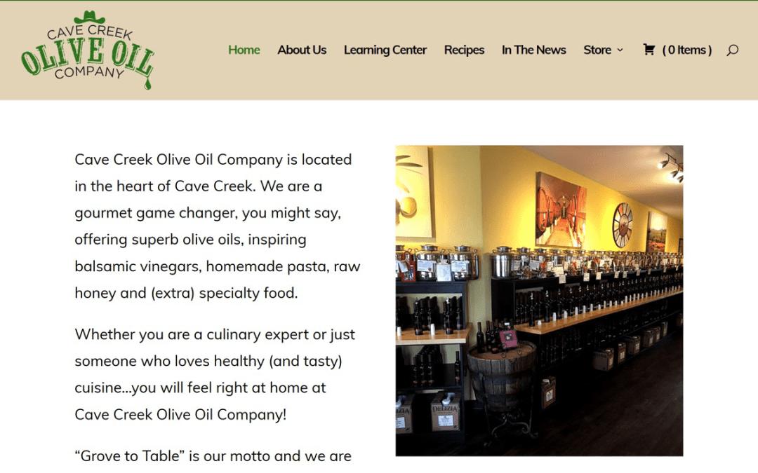 Cave Creek Olive Oil