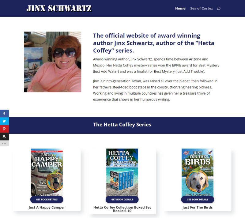 Jinx Schwartz New Home Page