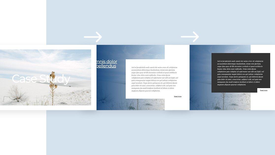 How to Combine Overlaps with Divi's Sticky Options to Create Effortless Transitions