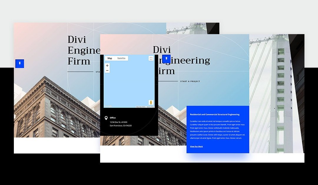 How to Add a Fixed Map Toggle to Your Divi Page Template