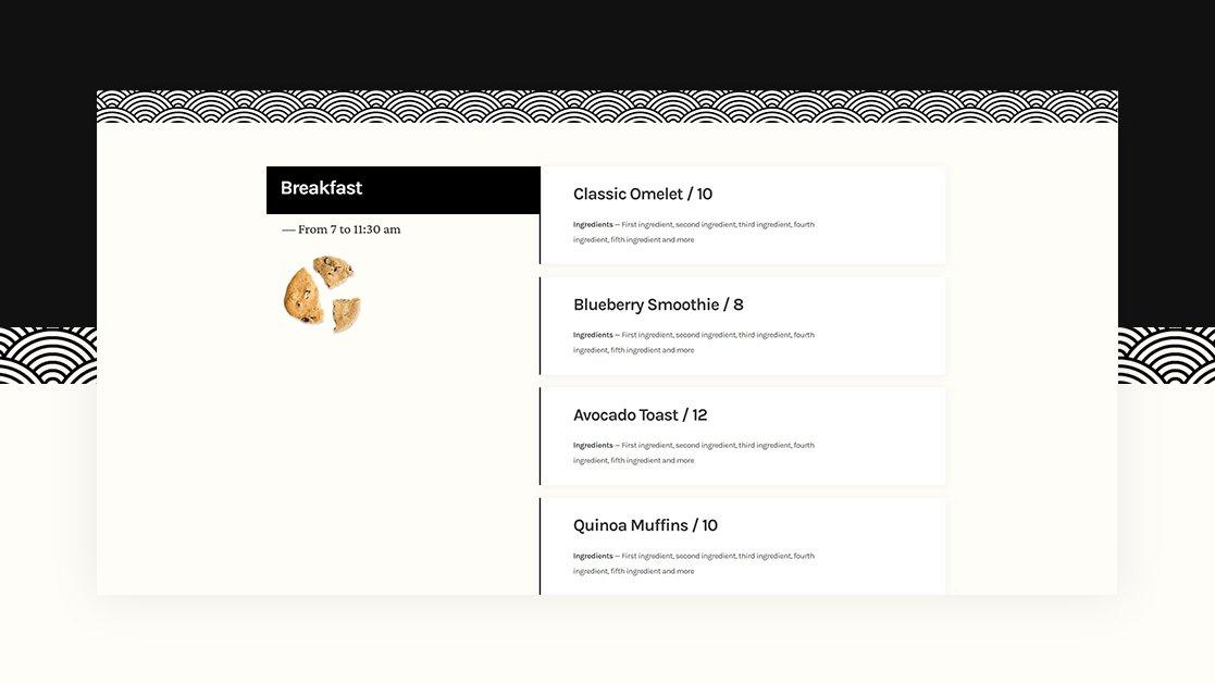 How to Create a Sticky Restaurant Menu Design with Divi