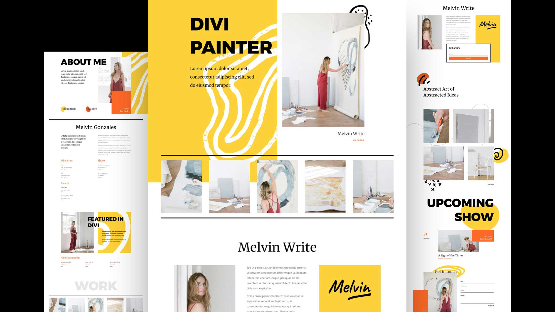 Get a FREE Painter Layout Pack for Divi