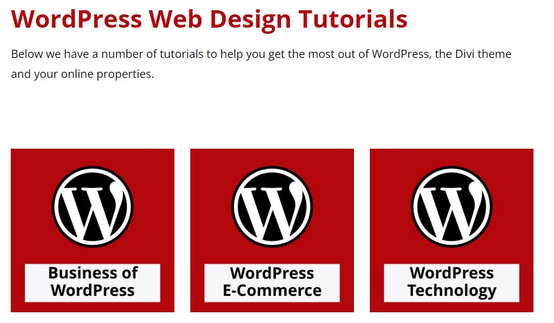 Check Out More Than 400 WordPress Web Design Tutorials