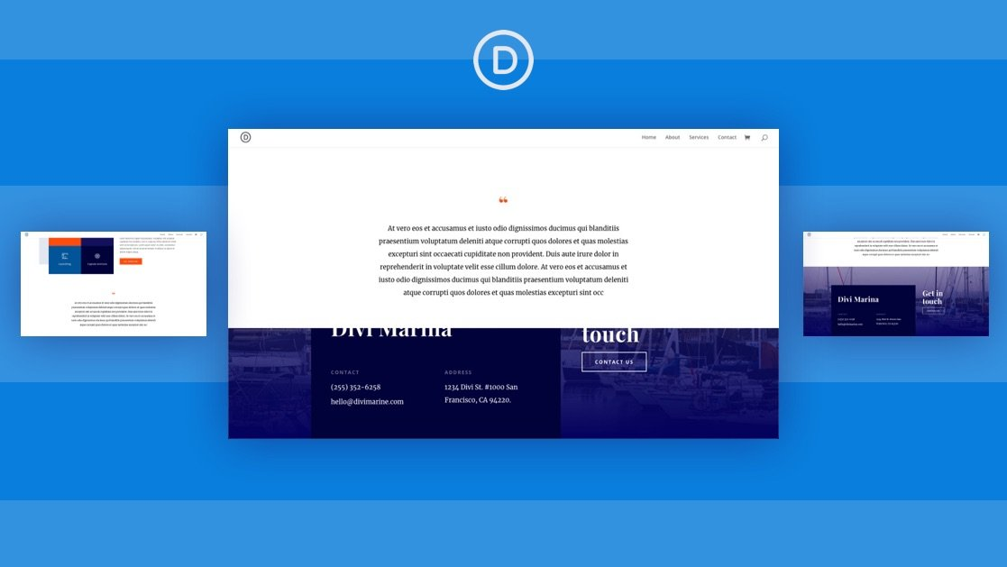 How to Create a Sticky Footer Reveal with Divi