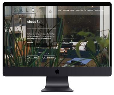 Webdesign Antwerpen about salt