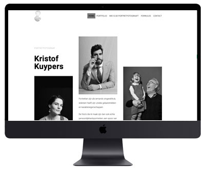 Kristof Kuypers Webdesigner Antwerpen