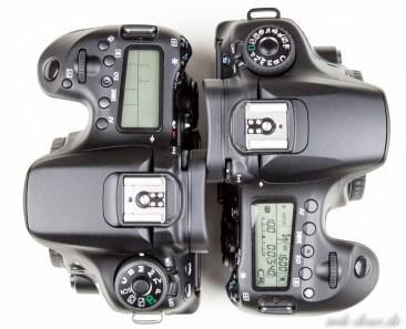 Canon 60D Canon 70D Vergleich