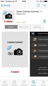 Canon EOS 760D 750D iPhone App - 2