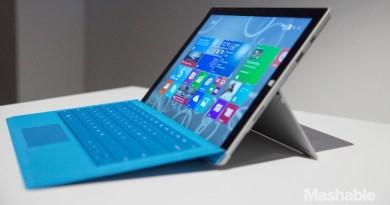 Découvrez à quoi ressemble le nouveau Microsoft Surface 3 : Avant-première à Paris
