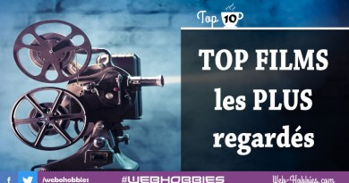 Top 10 films les plus regardés