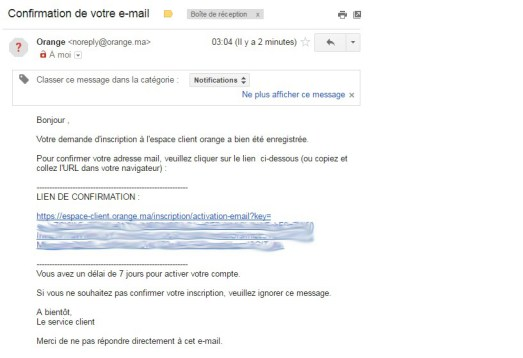 email-validation-signup-orange-cineday-Orange Cineday Comment ça marche : Une place offerte au cinéma