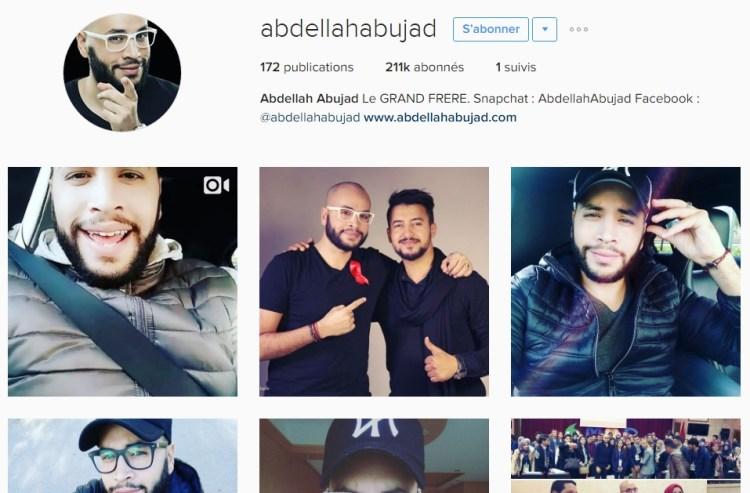 Instagram Abdellah Abujad