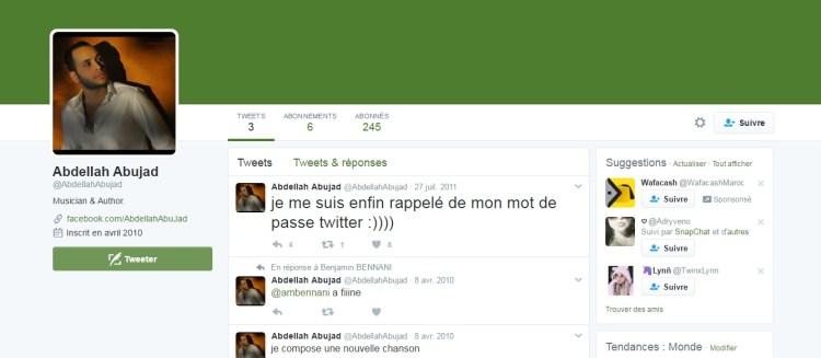 Twitter Abdellah Abujad