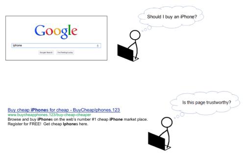 Eine Website sollte nach den Richtlinien von Google das sogenannte EAT-Prinzip befolgen.
