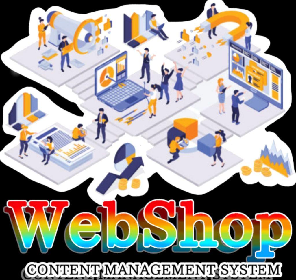 WebShop CMS