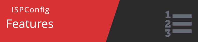 Панель управления хостингом — ISPConfig
