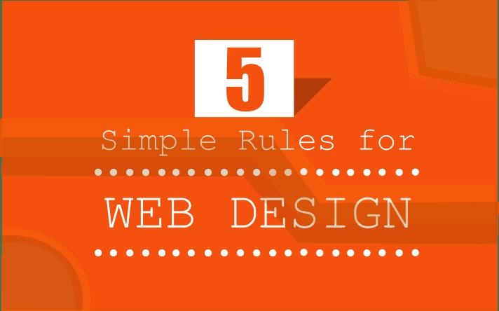 5 основных правил веб-дизайна