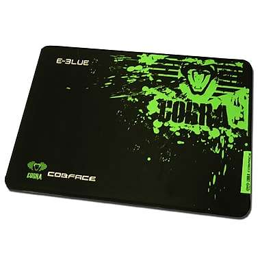 E-Blue Cobra Medium Black and Green Gaming Mouse Pad