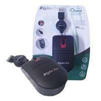 Right-Tec RTMY10 Optical Mouse / Black & Red