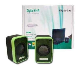 Right-Tec Portable USB Speaker